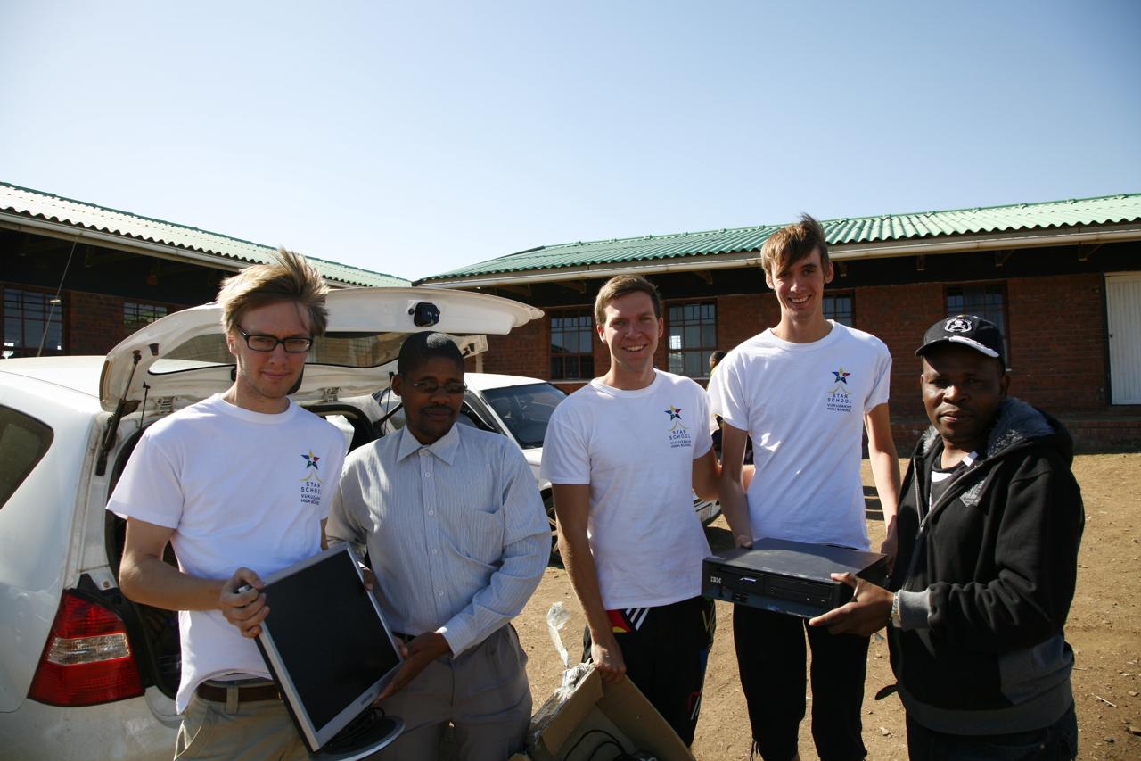 Sista datorerna innan Durban leveras