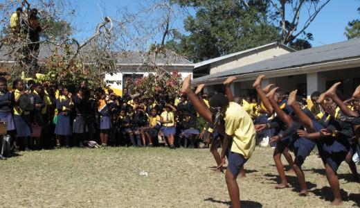 Magisk stund på skolgården