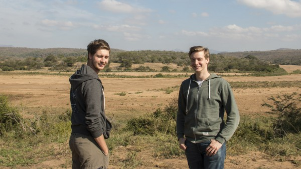 Some handsome guys on safari