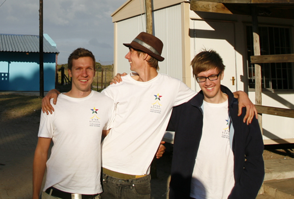 From left to right: Markus, Jonas and Jens.