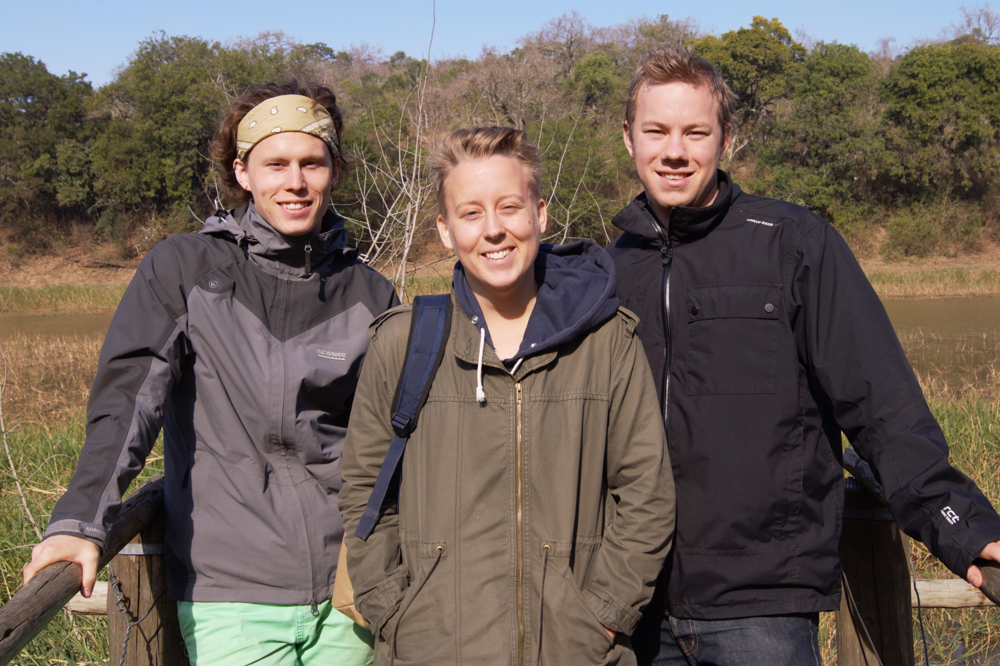 From left to right: Daniel, Hedvig and Tomas.